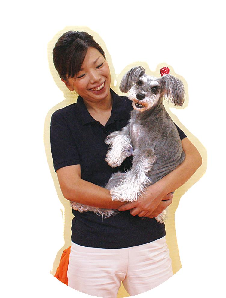 ドッグ整体のきっかけは愛犬の身体をなんとかしたい!との想いから。
